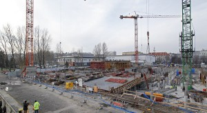 Gdynia Waterfront pnie się w górę - zdjęcia z budowy