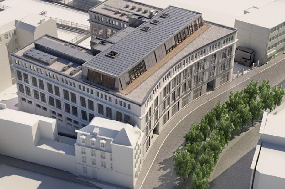 Trwa przebudowa siedziby LPP w Gdańsku - wizualizacje