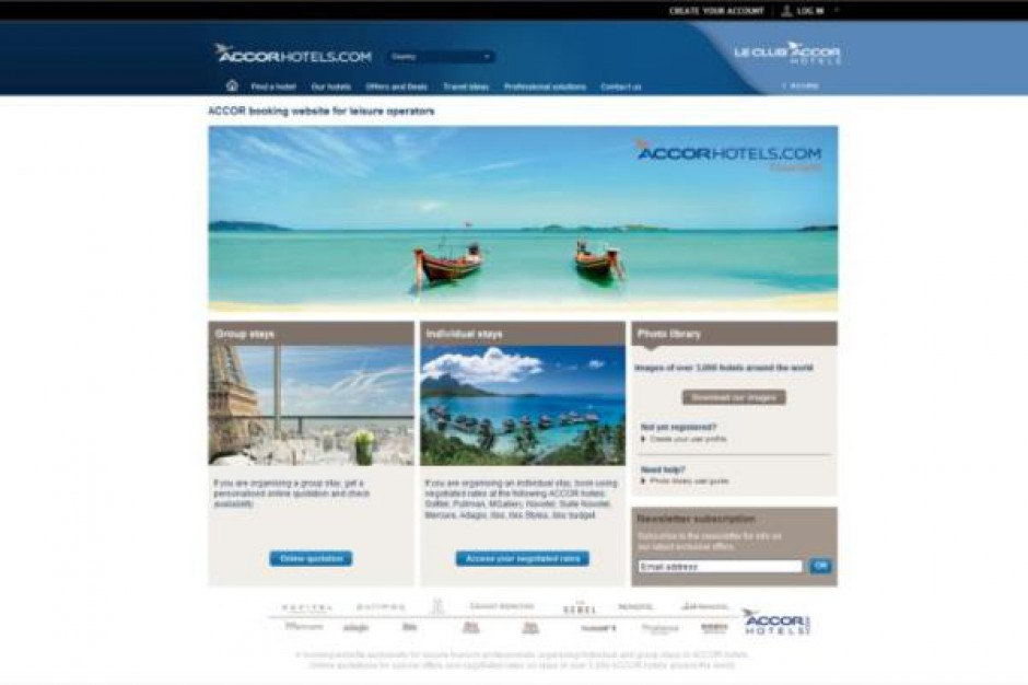 Accor uruchamia nowe rozwiązanie rezerwacji online