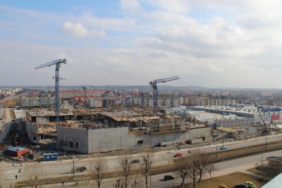 Rośnie Centrum Handlowe Ogrody w Elblągu