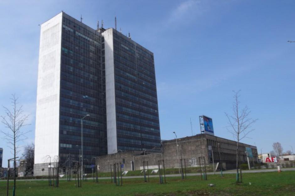 TDJ zburzy wieżowiec koło katowickiego Spodka