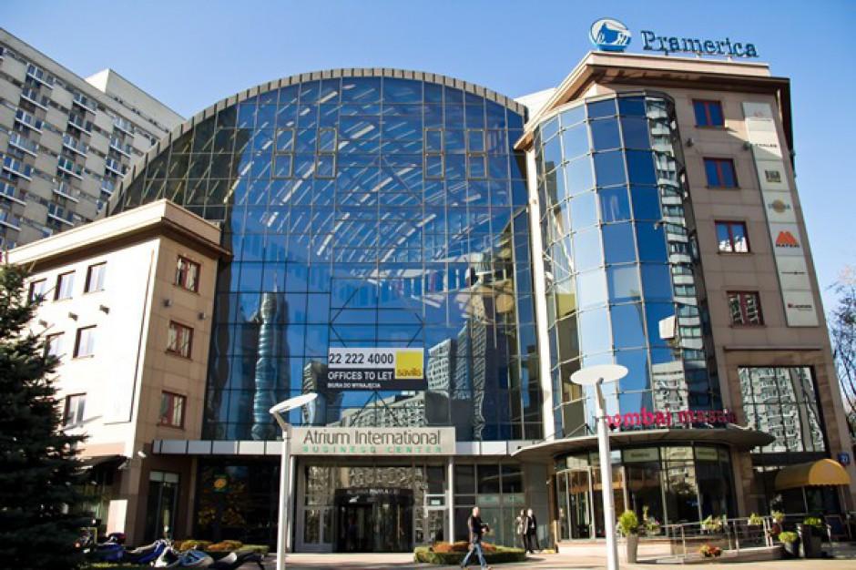 1100 mkw. powierzchni wynajętej w Atrium International Business Center