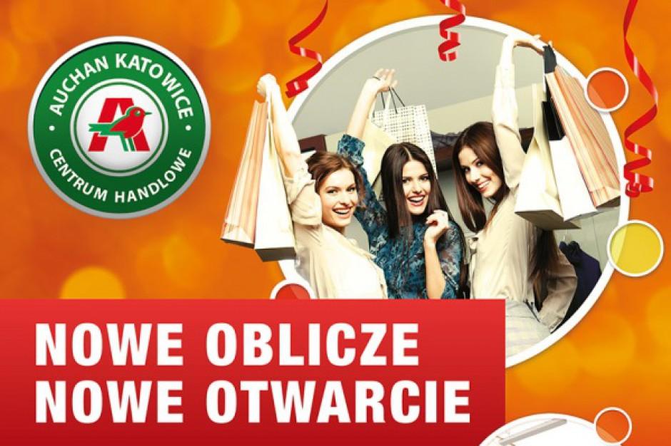 Auchan Katowice promuje się w nowej odsłonie
