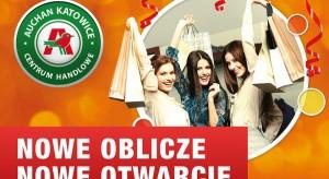 Nowe oblicze Centrum Handlowego Auchan Katowice