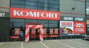 Pierwszy sklep sieci Komfort w Stalowej Woli