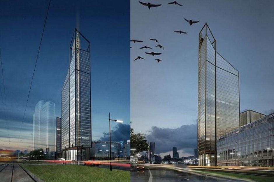 Wieżowiec o wysokości 190 m wyrośnie na warszawskiej Woli
