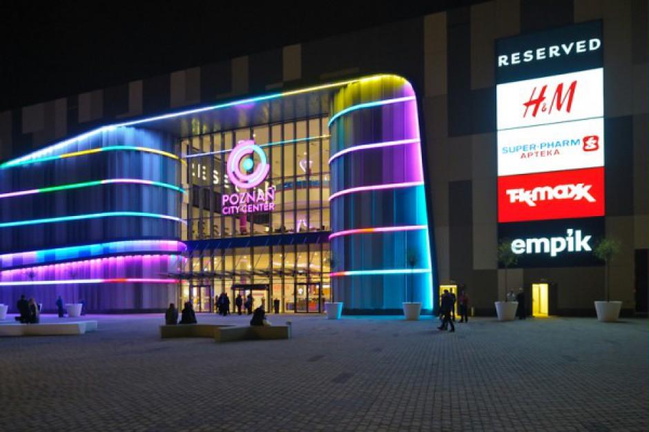 Centrum handlowe Poznań City Center zamknięte do odwołania
