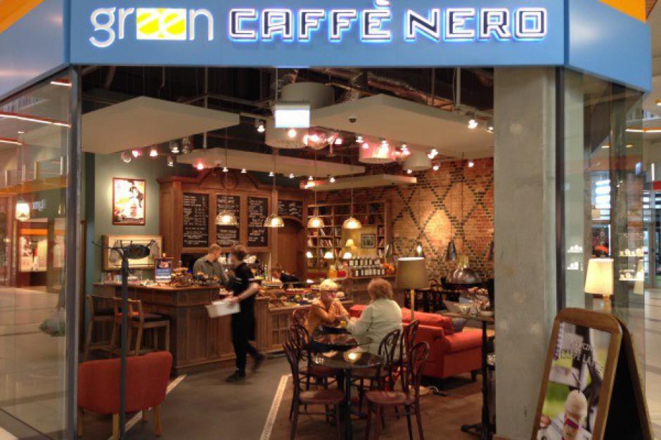 Green Café Nero w podwarszawskiej galerii