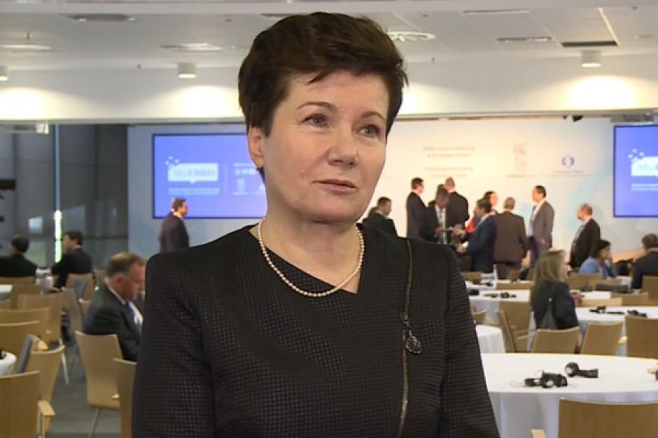 Hanna Gronkiewicz-Waltz: prawobrzeżna Warszawa potrzebuje infrastruktury komercyjnej