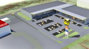 Ruszają prace przy budowie Parku Handlowego My Box w Namysłowie