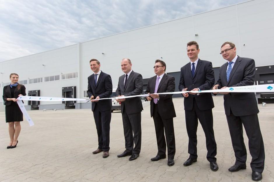 Hale kompleksu North-West Logistic Park w Szczecinie oficjalnie otwarte