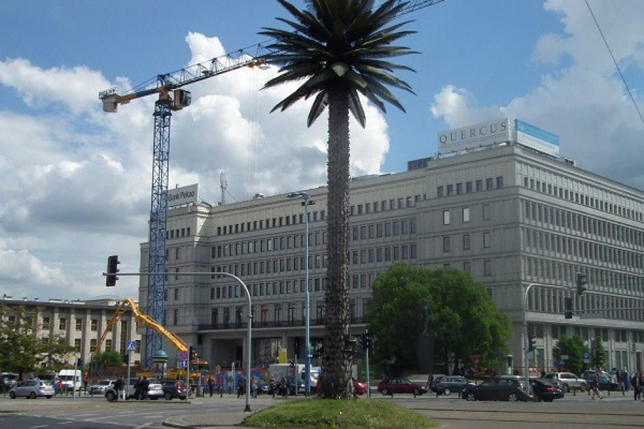 Zakończono realizację pierwszego etapu parkingu pod Centrum Bankowo-Finansowym