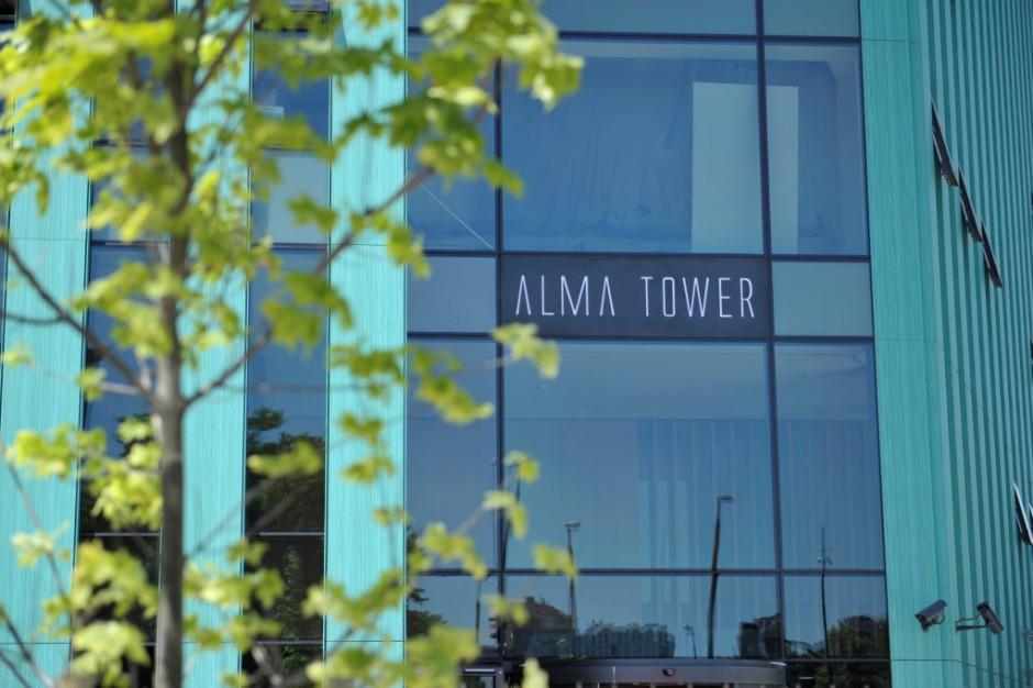 Onet.pl zajmie połowę powierzchni w Alma Tower