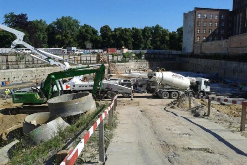 Postępy na budowie OVO Wrocław
