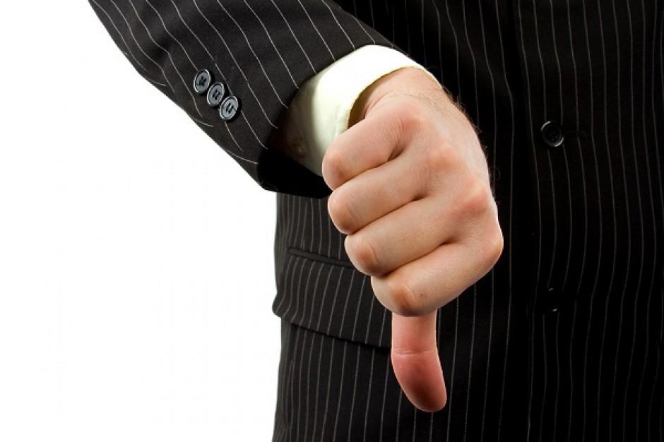 Firmy z branży handlu detalicznego najbardziej zagrożone upadłością