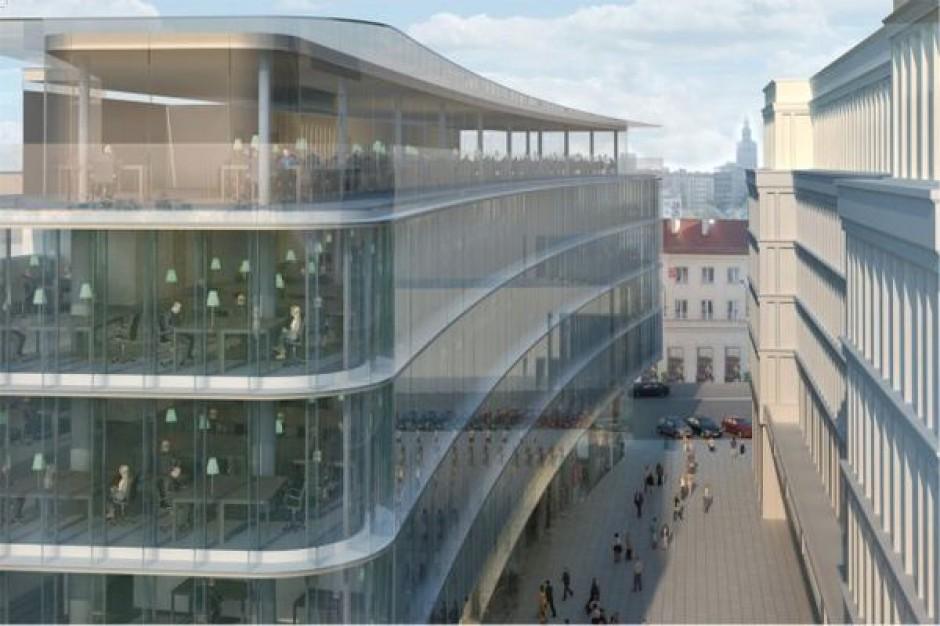 Biurowiec Nowy Świat 2.0 wchodzi w drugi etap budowy