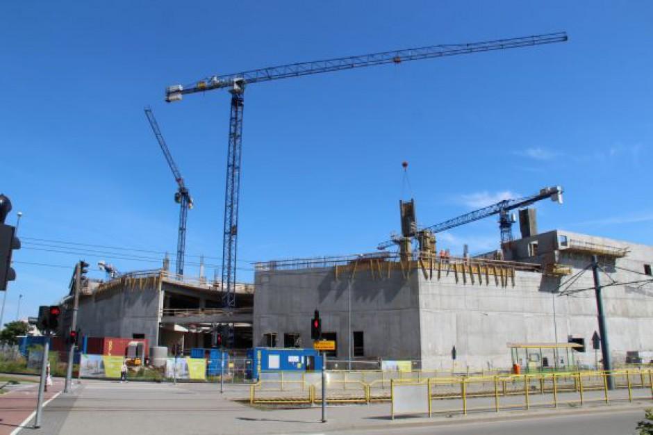 Budowa CH Ogrody w Elblągu wchodzi w nowy etap