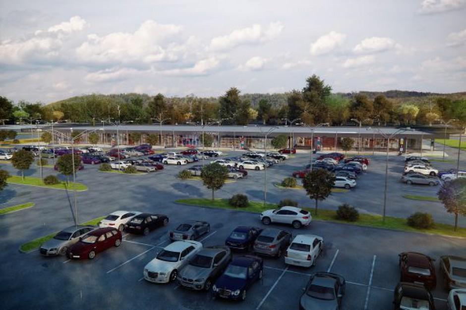 Postępuje budowa Parku Handlowego w Miejscu Piastowym k. Krosna