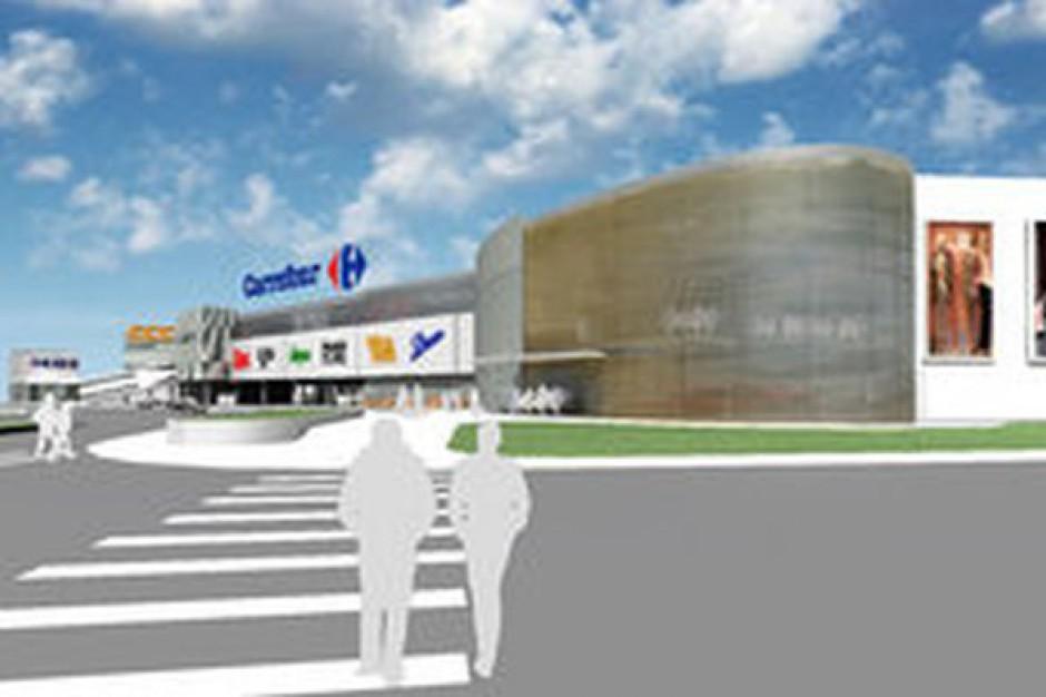 Trwa modernizacja centrum handlowego Carrefour w Olsztynie