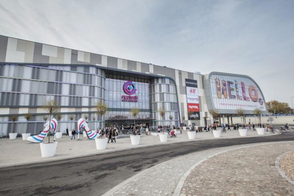Zakończono remont sufitu Poznań City Center