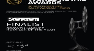 Kazar finalistą World Retail Awards