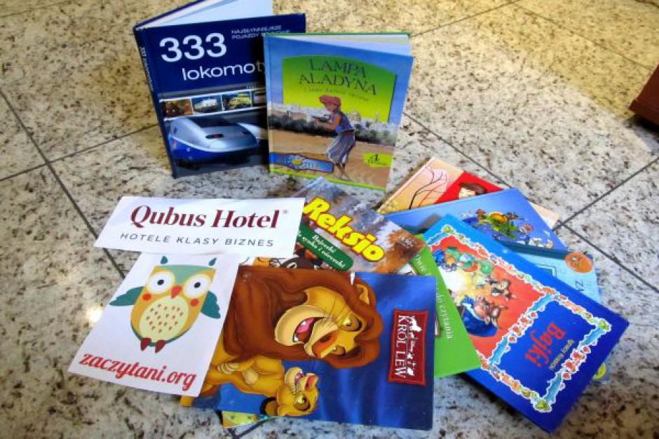 Sieć hoteli Qubus podsumowuje akcję wspierania czytelnictwa