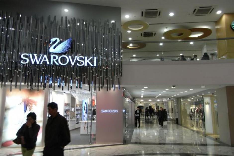 Sieć Swarovski notuje 30 mln zł rocznej sprzedaży