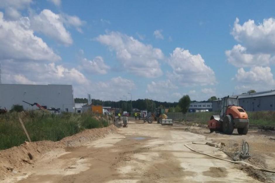 Postępuje budowa trzeciej hali kompleksu North-West Logistic Park