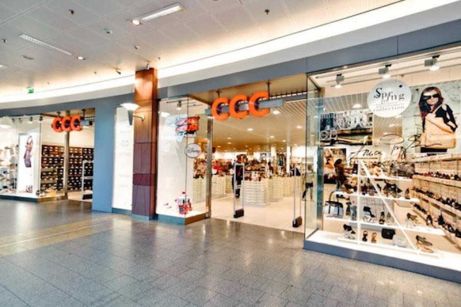 Spółka CCC wypracowała w lipcu br. 143,5 mln zł przychodów