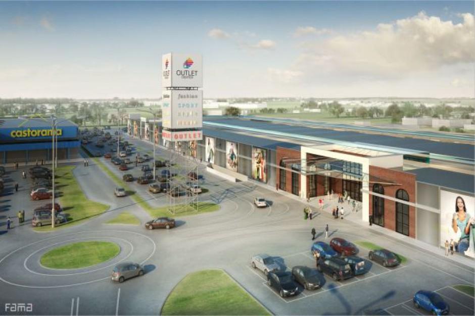 Outlet Center Białystok z pozwoleniem na budowę