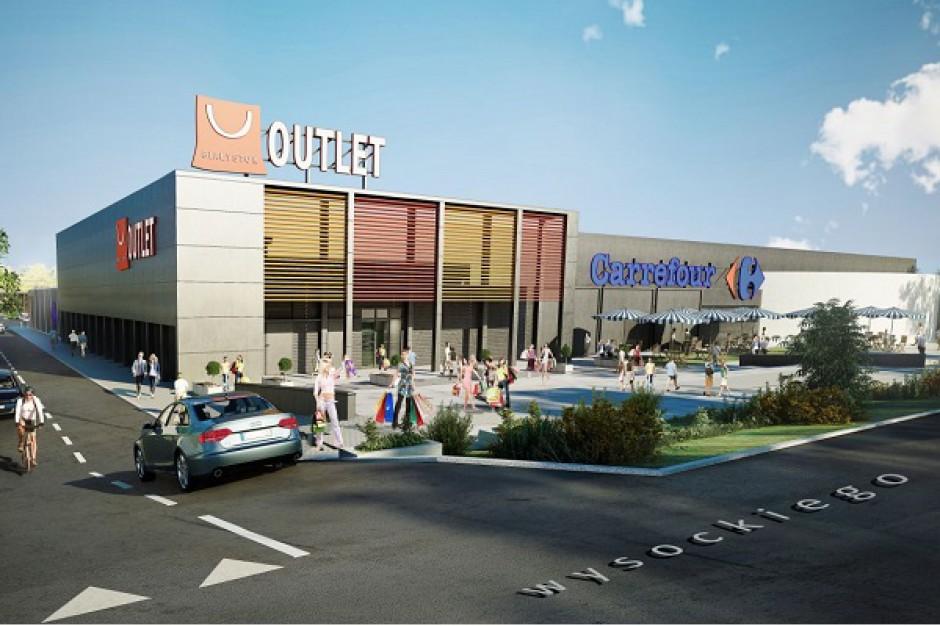 Ruszyły prace przy budowie Outlet Center w Białymstoku