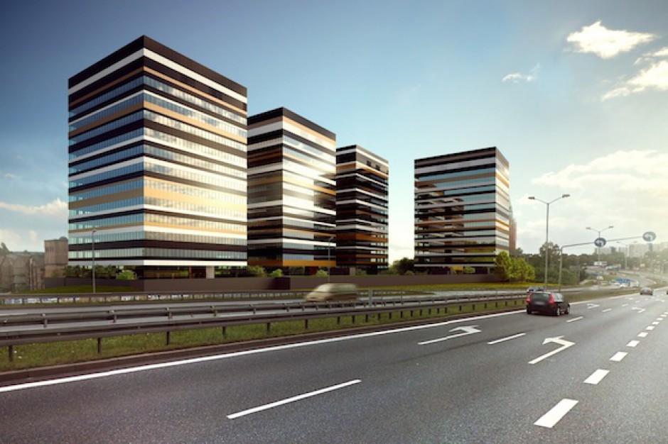 Drugi budynek Silesia Business Park w budowie