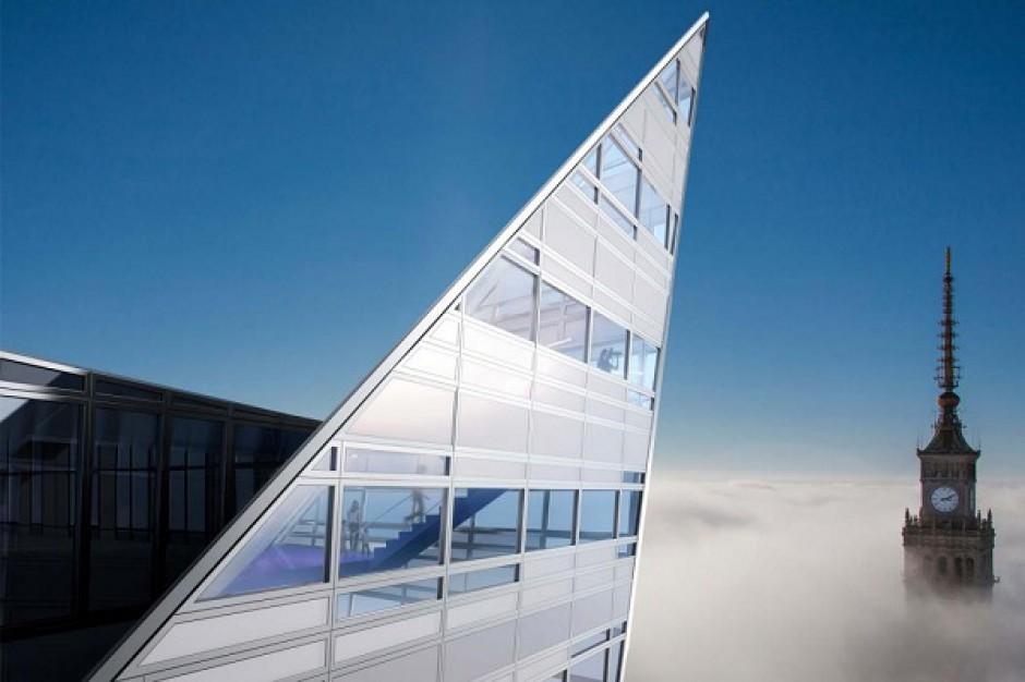 BBI sprzedaje sześćset metrów w chmurach. Szczyt Złotej 44 do wzięcia