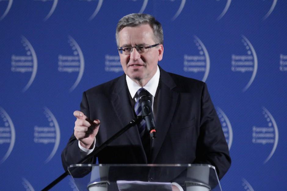 Bronisław Komorowski gościem specjalnym Wschodniego Kongresu Gospodarczego