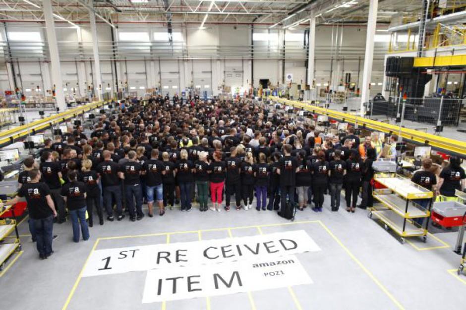 Centrum logistyczne Amazon w Sadach przyjęło pierwszą dostawę przesyłek