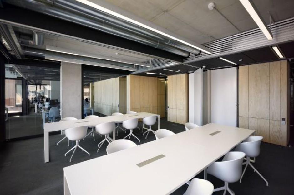 Projekt przestrzeni biurowej musi uwzględniać plany rozwoju firmy