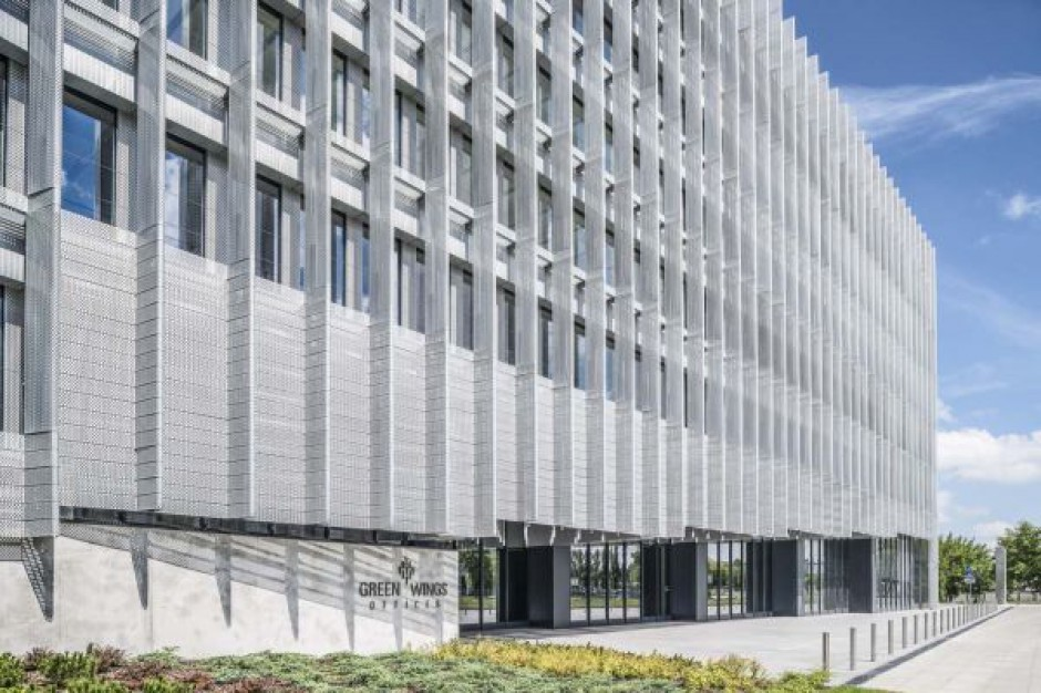 Zapełnia się przestrzeń biurowa GreenWings Offices
