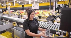 Pierwsza dostawa przesyłek w centrum logistycznym Amazon w Bielanach Wrocławskich
