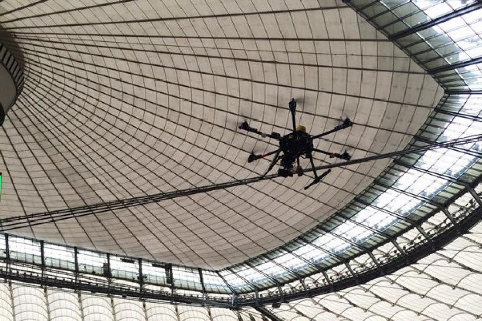 Pierwsze drony w służbie polskich nieruchomości komercyjnych