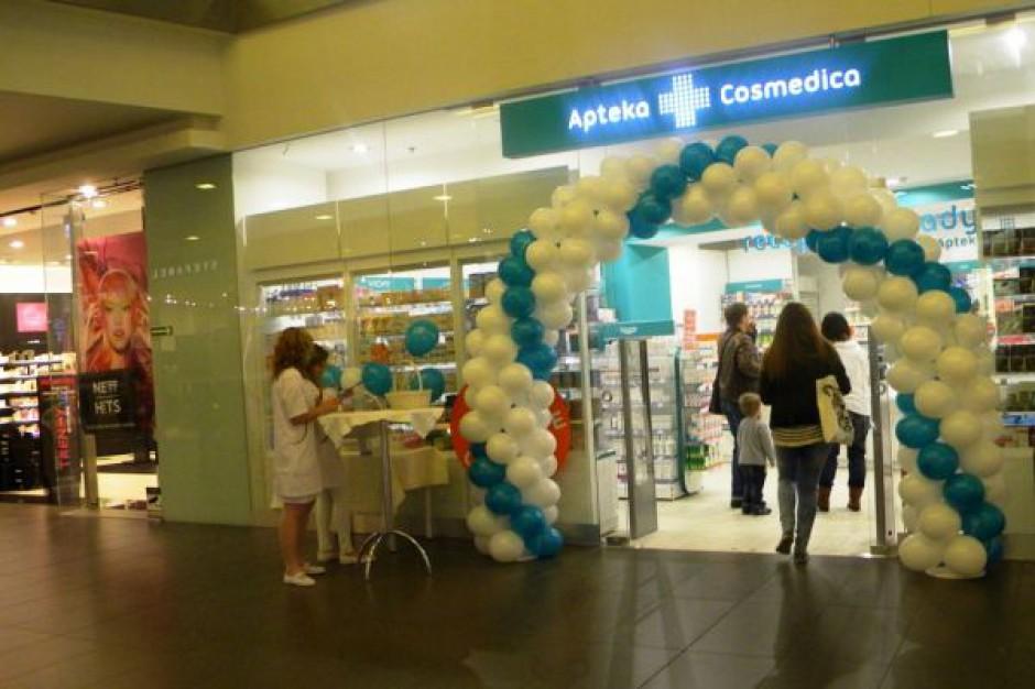 Powiększa się sieć aptek Cosmedica