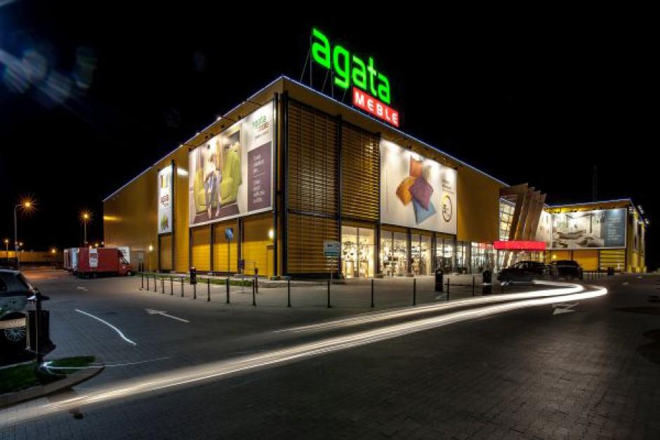 agata meble zbuduje trzy nowe salony centra handlowe