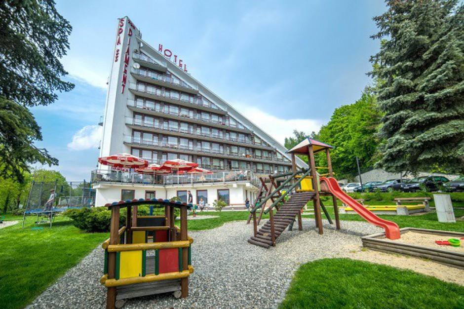 Hotel Diament w Ustroniu z certyfikatem Hotel Przyjazny Rodzinie