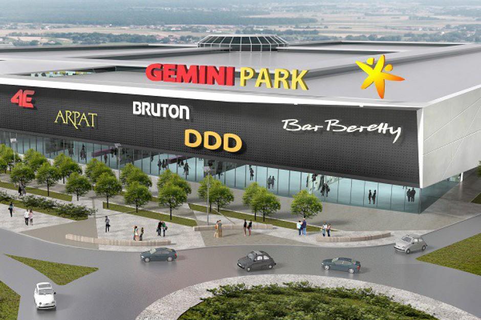 Gemini zaprezentuje projekt nowego centrum handlowego