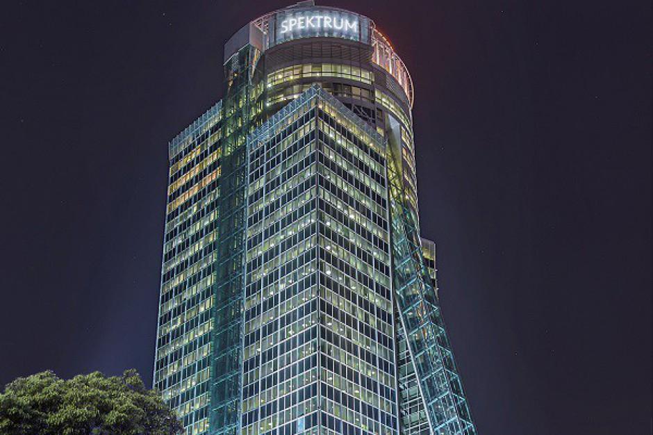 Spektrum Tower z przestrzenią dla sztuki współczesnej