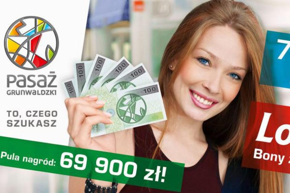 Pasaż Grunwaldzki kusi klientów wygranymi w loterii zakupowej