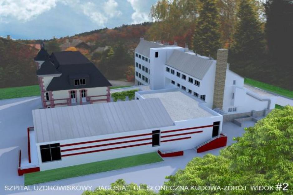 Modernizacja obiektu hotelowego w Kudowie Zdroju na finiszu