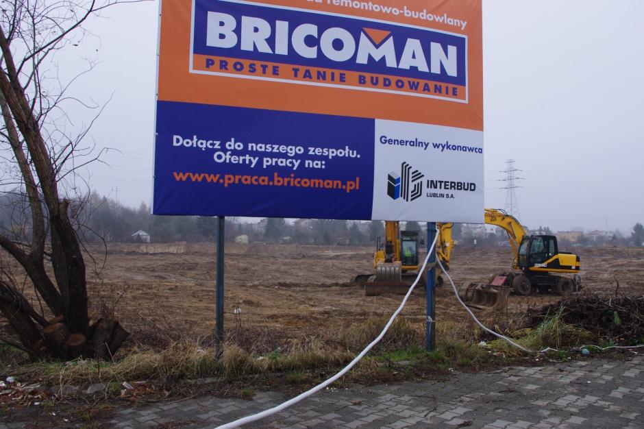 Bricoman przygotowuje budowę marketu we Wrocławiu