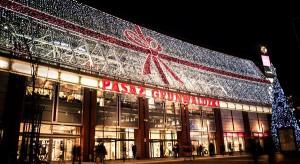 Świąteczna iluminacja Pasażu Grunwaldzkiego