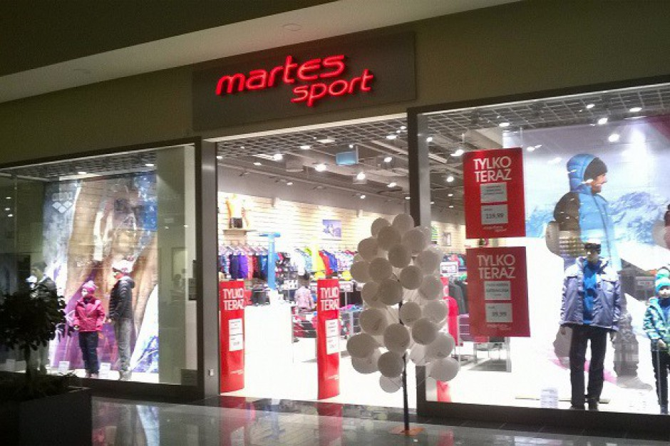 Martes Sport zyska nowy wymiar w piotrkowskiej galerii