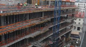 Zakończono realizację konstrukcji biurowca Nowy Świat 2.0